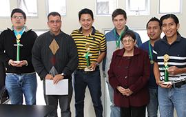 Premiación I Torneo de Ajedrez Interfacultades