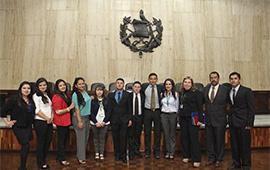 Gira educativa de estudiantes de Derecho