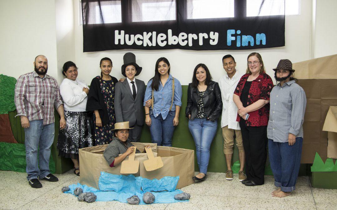 Presentación de Huckleberry Finn