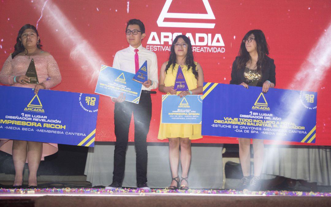 Gala de premiación de Festival Arcadia