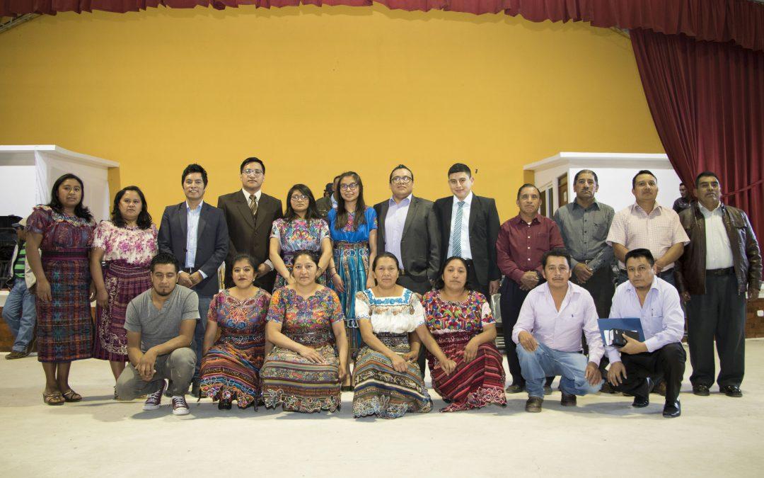 Entrega de proyecto a la Asociación de Desarrollo Integral y Administración de Agua Potable Chiquilajense