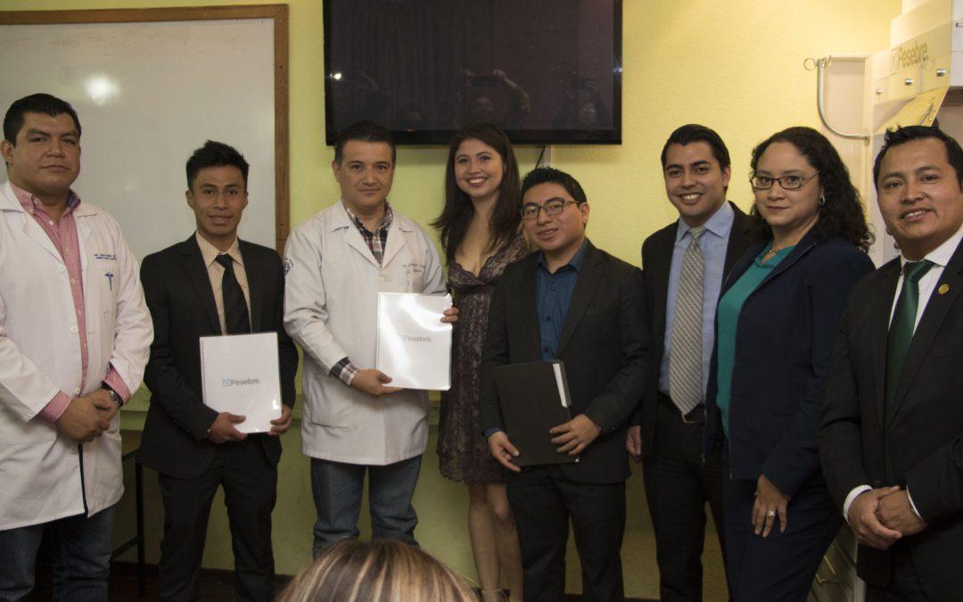 Sistema 'Pesebre' es entregado a Hospital Regional de Occidente