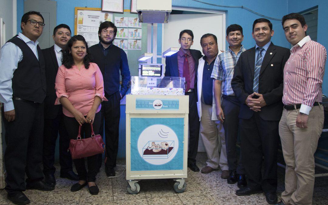 Cuna térmica desarrollada para Hospital Nacional de Coatepeque