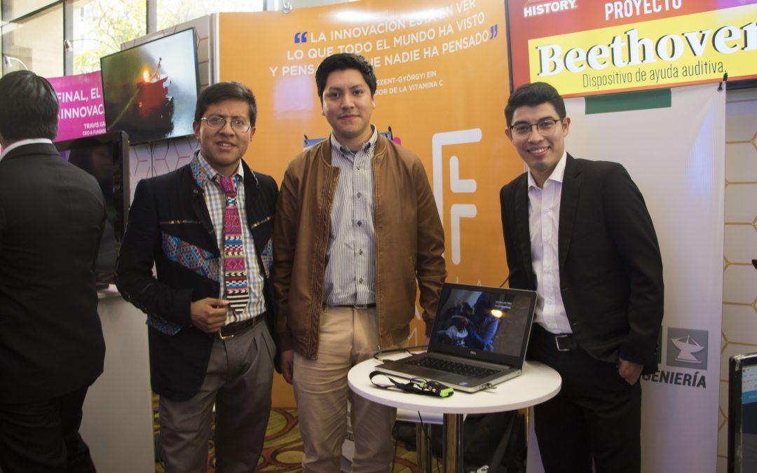 Estudiantes exponen proyectos en el Guatemala Innovation Forum
